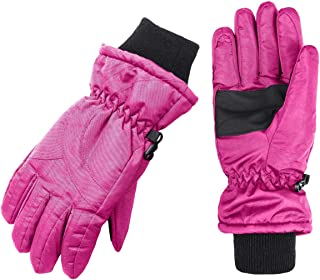 Wantdo Women's Waterproof Insulated Winter Warm Ski Snowboarding Gloves