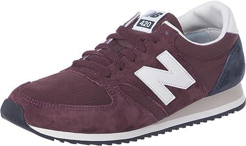 New Balance U420 chaussures 4,5 bordeaux - 37 EU - Rouge : Amazon ...