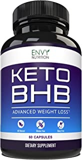 Best Keto Diet Pills – Advanced Weight Loss - BHB Salts Support Fat Burning, Ketosis, Improved Energy and Enhanced Focus