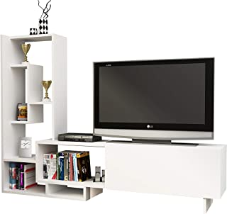 Decorotika Pegai TV Stand and Entertainment Center for TVs up to 55