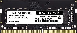 Team ノートPC用 SO-DIMM DDR4 2400MHz PC4-19200 8GB 無期限保証