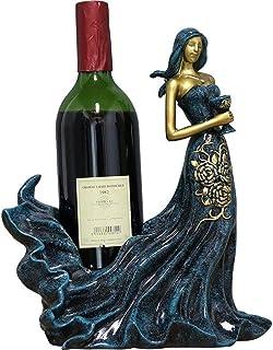 ZWJWJ Sculpture Casier à vin décoration Statue casier à vin présentoir Bureau Maison Salon Bureau Armoire à vin décoration...