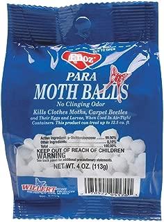 ENOZ Para Moth Balls, 4 OZ Package, Case of 24 Boxes, (Total 96 Ounces)