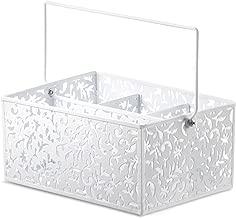 Design Ideas Vinea Condiment Caddy, White (5420141)