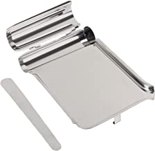 Stainless Steel Pill Counting Tray and Spatula