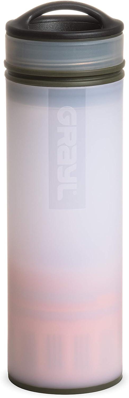 GRAYL UltraPress - Botella con filtro de agua potable (710 ml, para senderismo, camping, supervivencia y viajes)