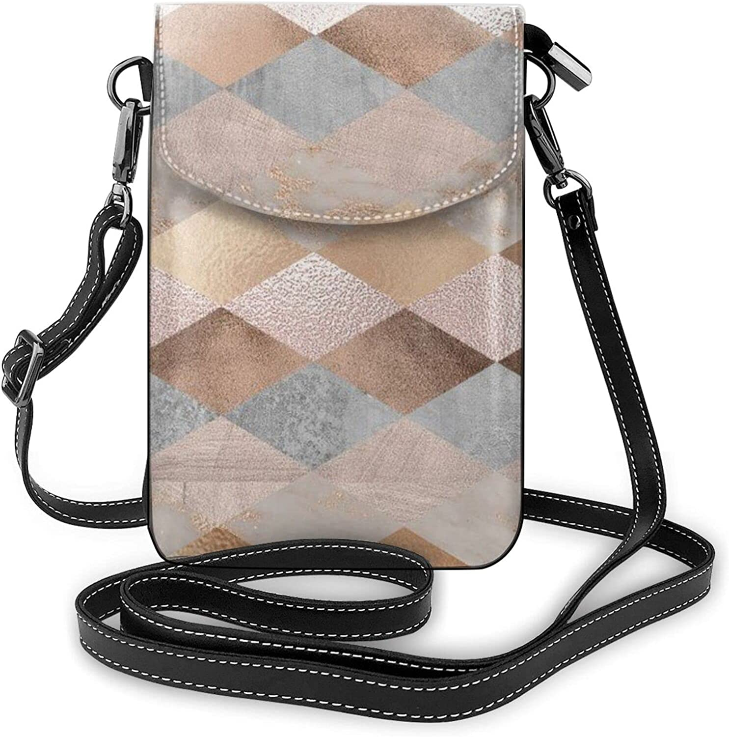 Lightweight PU Leather Handbag Popular shop is the lowest price challenge Max 52% OFF Small Crossbody Pho Mini Cell Bag