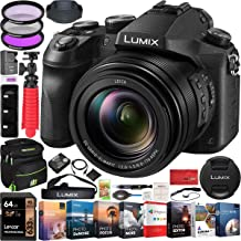 $997 » Panasonic Lumix FZ2500 4K Hybrid Photo Video Digital Camera with 20x Leica DC Vario-Elmarit Lens DMC-FZ2500 Bundle with Deco Gear Camera Bag Case + Filter Kit + Photo Video Software & Accessories
