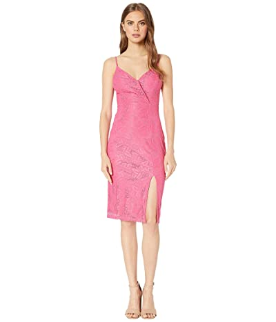 BCBGeneration Lace Midi Dress TCG6206617 (Fuchsia) Women