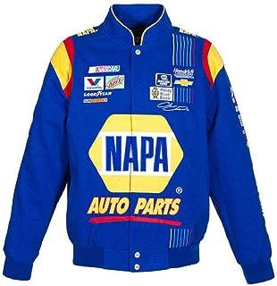J.H. Design Chase Elliott Napa NASCAR Jacket Size Large
