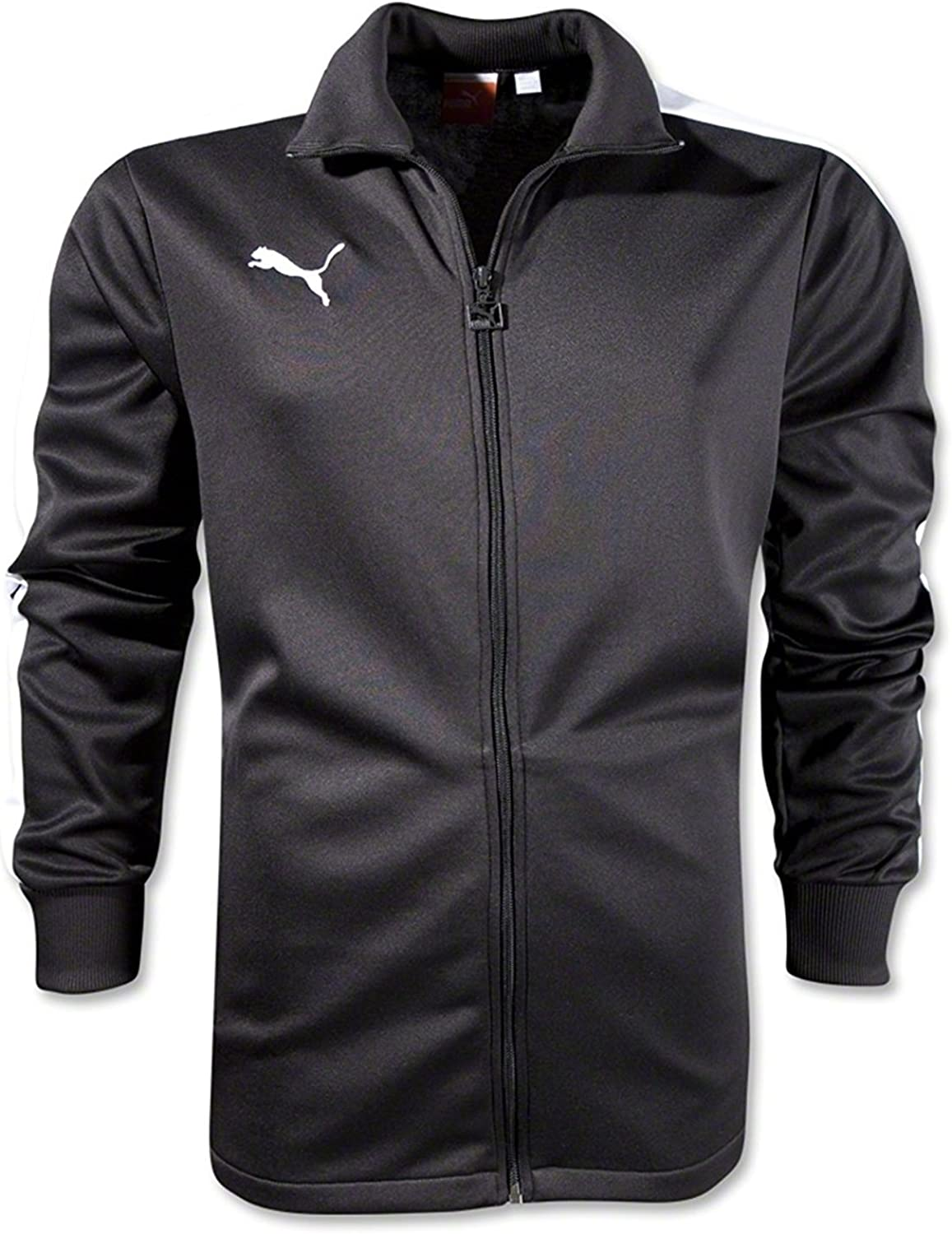 Puma Men's Icon Walk Out Jacket Medium Youth Black-White Max 81% OFF Al sold out.