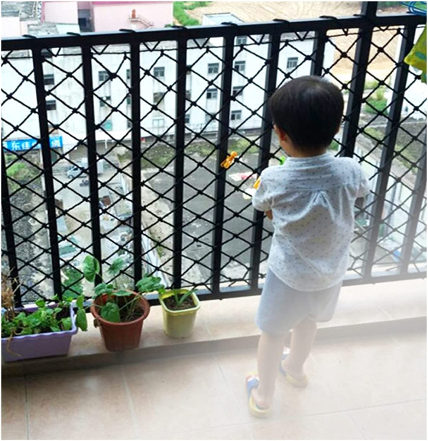 AWSAD Cheap sale Protective Net Woven Child Safety Netting Cat Pet Fenc In a popularity