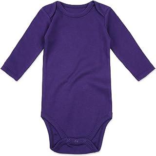 NWT Infant Girls Purple Long Sleeve Sweet Bodysuit 6-9 Months