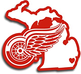 detroit red wings bumper stickers