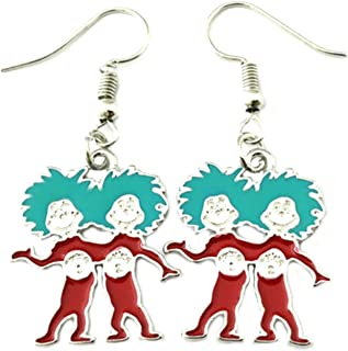 Seuss Fashion Novelty Pendant Necklace Movie Cartoon Series with Gift Box Athena Brands Dr