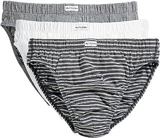 Fruit of the loom briefs 3pack 172206men's underwear/briefs Grey Size: Medium