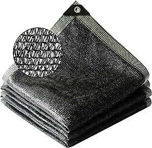Kakurookie 40% Sunblock Shade Cloth,6.5 x 10 ft UV Resistant Net,Tear-Resistant Garden Shade Mesh Tarp for Greenhouse Patio Lawn Flower Plant (6.5x10FT)