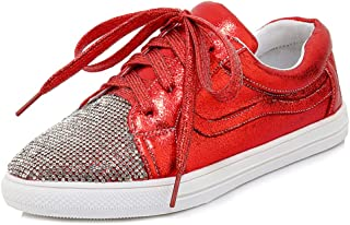Zanpa Women Fashion Sneaker Rhinestone