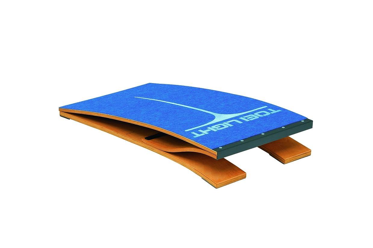 受信軽食必要とするTOEI LIGHT(トーエイライト) ロイター板100 T2717 踏切板 小学校向 上面カーペット張 下部ゴム付 踏切の目安となるマーク付