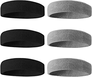 BEACE Sweatbands Sports Headband/Wristband for Men &...
