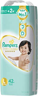 Pampers Premium Care Tapes Diapers, L, 42 count
