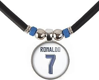 SpotlightJewels Cristiano Ronaldo CR7 Soccer Jersey Necklace-Ronaldo Juventus Jersey Necklace, Madrid Jersey Necklace, Portugal Jersey Necklace