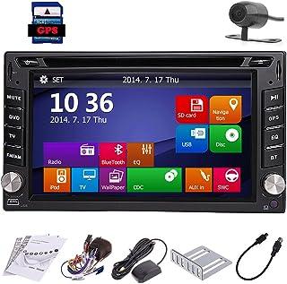 comprar comparacion Automotive Parts CD 2 DIN en el Tablero de Autoradio GPS Sat Multimedia Unidad Principal Cubierta En Car Stereo electr¨®ni...