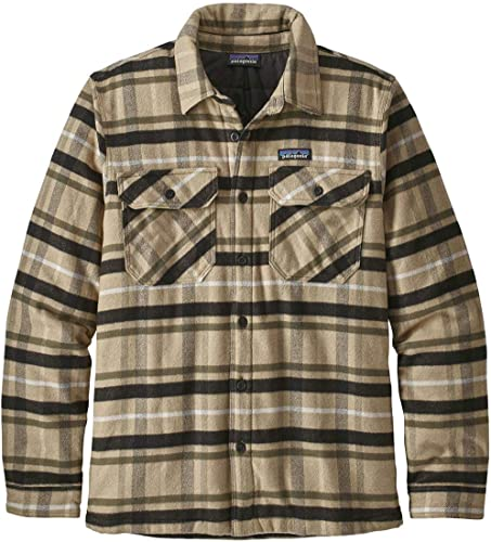 Patagonia Camicia Insulated Fjord Flannel veste hommes