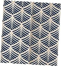 LOVIVER Cortina de porta estilo japonês padrão lótus cortina Noren japonesa tapeçaria divisória de quarto cortina de entra...
