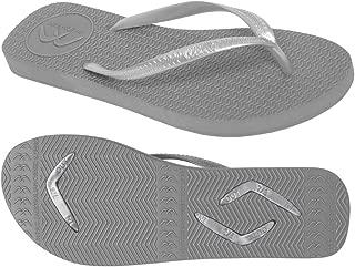 Boomerangz Slim Fit Interchangeable Flip Flops | Slippers | Thongs (Women's) Colour: Grey