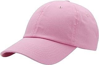 Top Level Baseball Cap for Men Women - Classic Cotton Dad Hat Plain Cap Low Profile