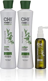 CHI Powerplus Starter Kit with Shampoo, Conditioner and Scalp Treatment