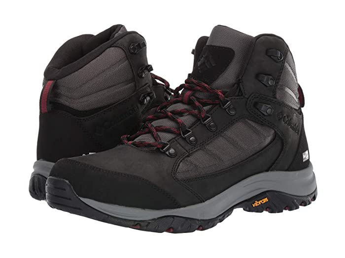 Columbia  100MWtm Mid Outdrytm (Shark/Deep Rust) Mens Hiking Boots