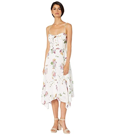 WAYF Hampshire Handkerchief Dress (Floral Printed Eyelet) Women