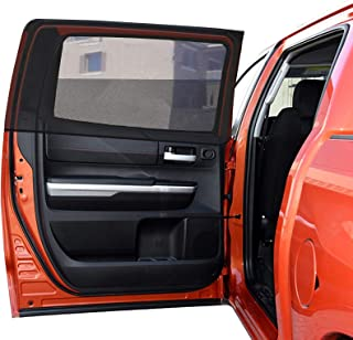 Car Rear Window Shade for Ford f150,Toyota Tundra,Dodge ram 1500,Full Size Pickups Standard SUV Jeep Grand Cherokee RangeRover Chevy Traverse Customized Car Window Shades for Baby Side Window-2pcs