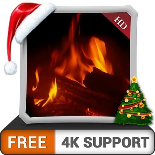 Kostenloser warmer Kamin HD - genießen Sie die kalten Winternächte in den Weihnachtsferien auf Ihrem HDR 4K-Fernseher, 8K-Fernseher und Feuergeräten als Hintergrundbild und Thema für Vermittlung und F