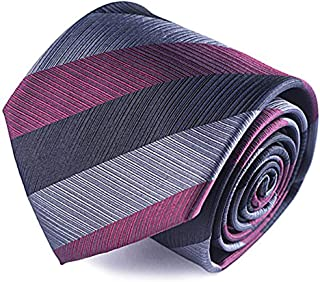 Mens ties silk Necktie men Neck Tie gift boxes luxury by Qobod