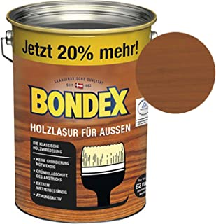 Bondex Holzlasur für Außen Teak 4,80 l - 329654