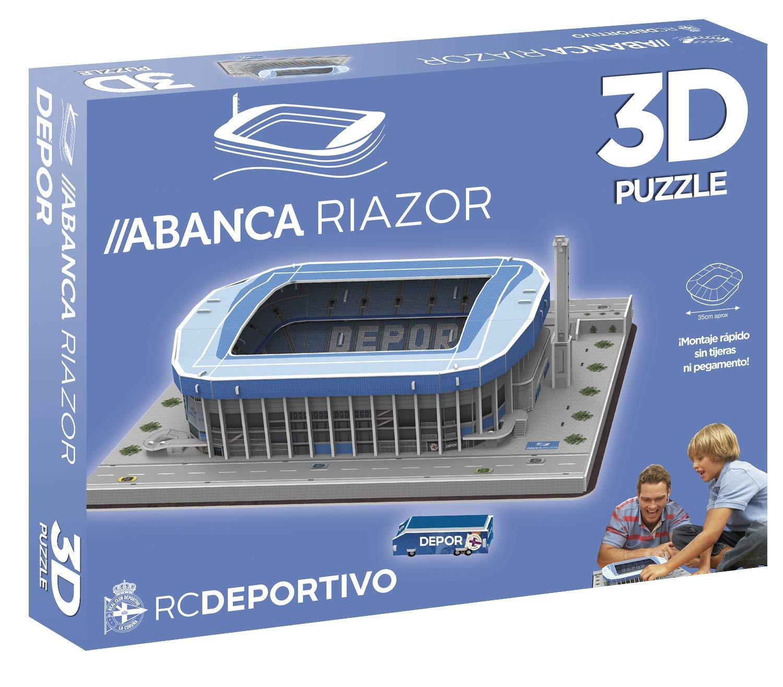 ELEVEN FORCE Puzzle Estadio 3D Riazor (Deportivo), Multicolor, Talla Única (1): Amazon.es: Juguetes y juegos