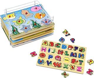 Best wooden puzzle sets Reviews
