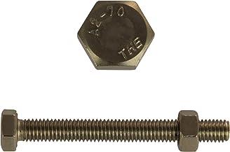 D´s Items® | Zeskantschroeven met volledige schroefdraad & zeskantmoeren - M16x65 - DIN 933 / DIN 934 - roestvrij staal A2...