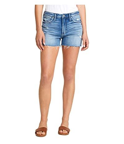Silver Jeans Co. Sure Thing High-Rise Shorts L28508SCP232 (Indigo) Women