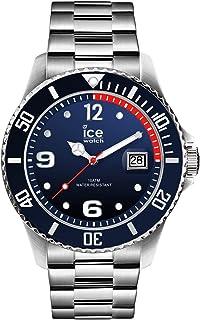 Ice-Watch - ICE steel Marine silver - Montre bleue pour homme avec bracelet en metal