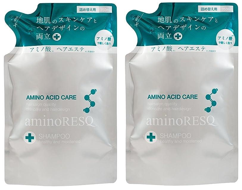 レスリングブランク実質的に【2個セット】aminoRESQ アミノレスキュー シャンプー詰替