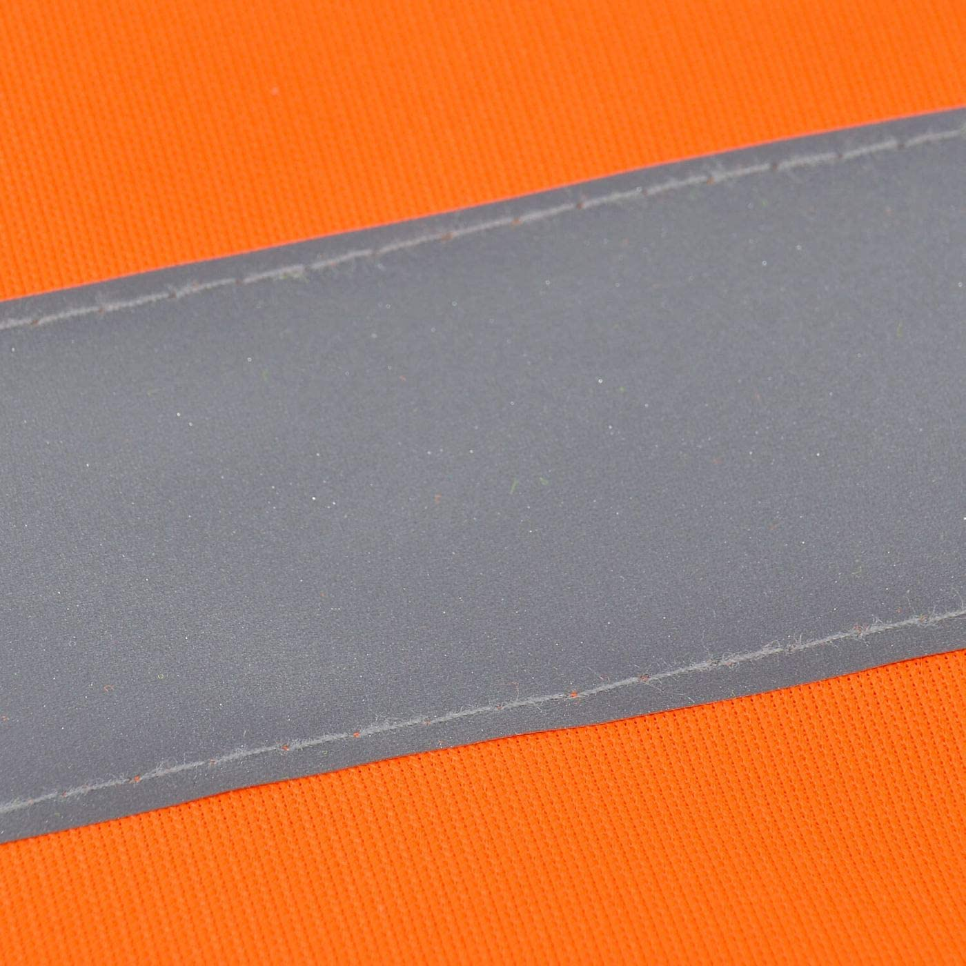 Warnweste Bitte Abstand Halten Sicherheitsweste Signal Weste Auto Joggen Laufweste Erwachsene Reflektor Orange Gelb Mit Klettverschluss M Neonorange Baumarkt