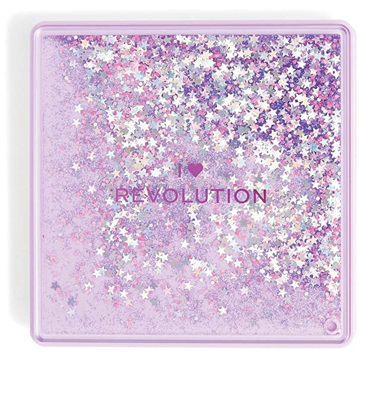 驚くべき放出コールドメイクアップレボリューション 9色アイシャドウパレット Glitter Palette #FORTUNE SEEKER