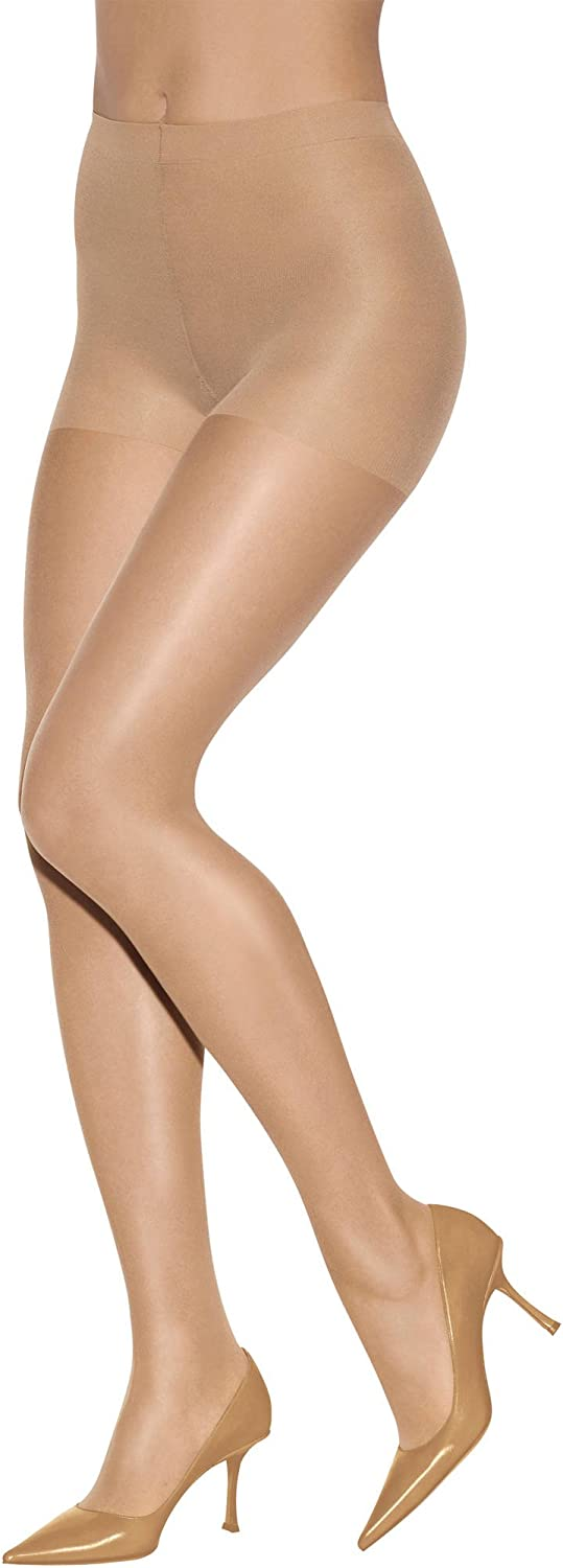 Loreinyes tight UltraSheer Pantyhose colibri 70, Firm Compression, supports smocking knit
