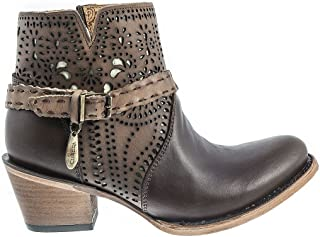 Cuadra Fashion Dress Leather Boots Chocolate - BOCUWFAO1COC08, 2K07RS