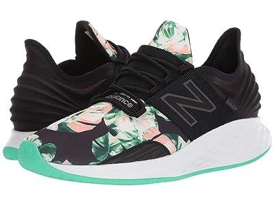 New Balance Fresh Foam Roav (Black/Neon Emerald) Men