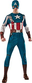 Rubie's Men's Marvel Universe Captain America Winter Soldier Retro Suit Costume
